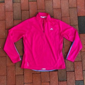 Adidas neon pink Clima Cool Formotion Zip-up M